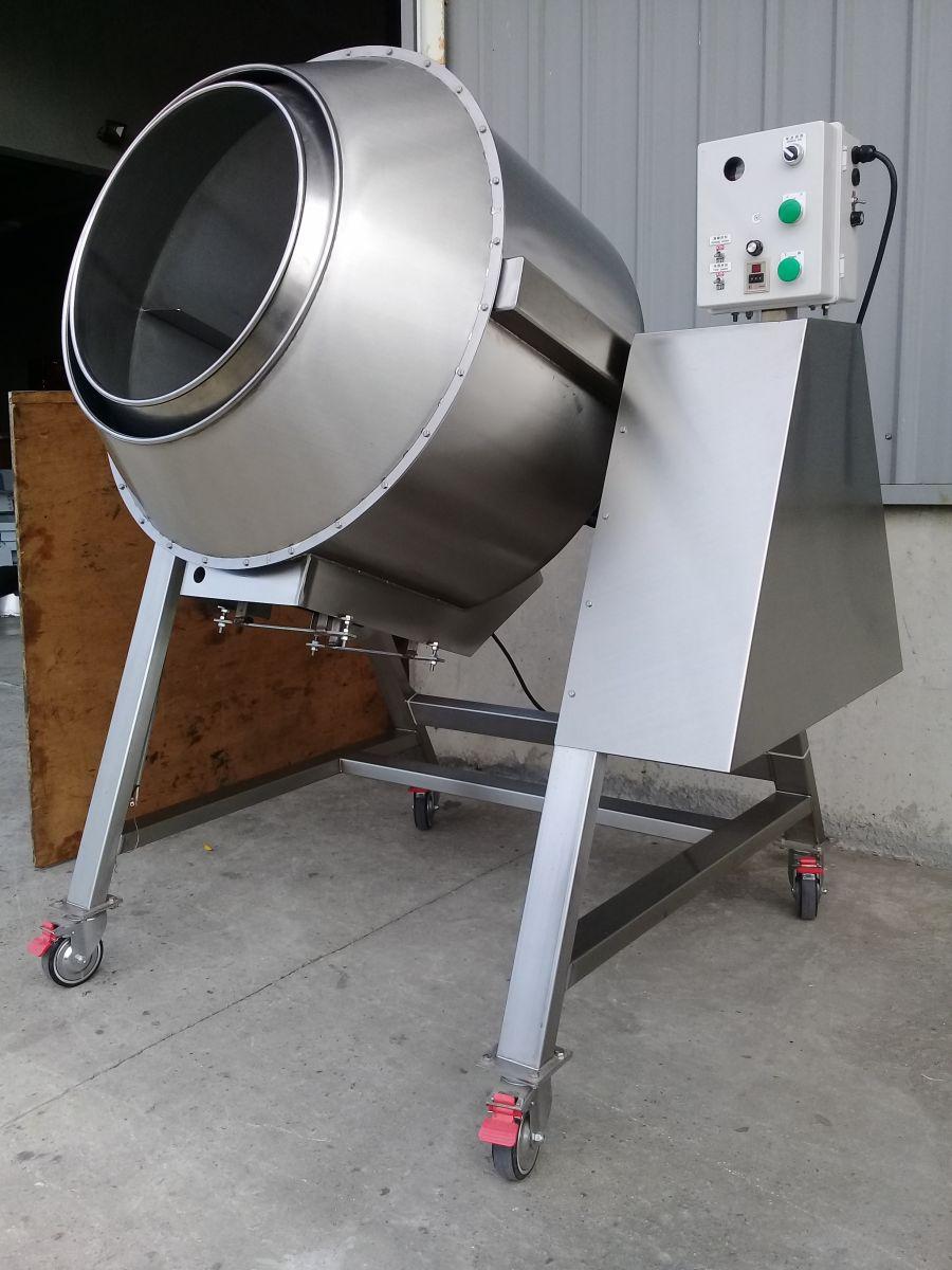 威綸機械,台中食品機械廠,350公升雙層炒食機