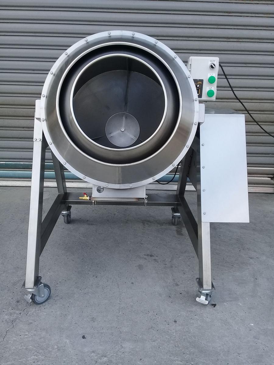 威綸機械-台中食品機械廠,120公升雙層炒食機